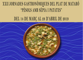 XXII GASTRONOMIC DAYS OF THE DISH OF MATARÓ
