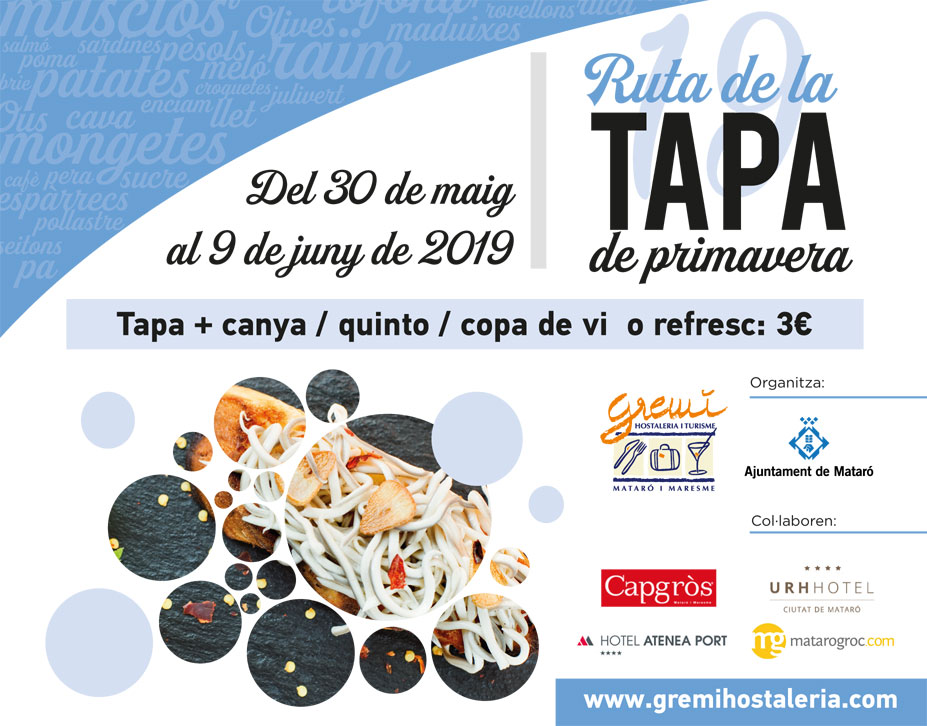 TAPA ROUTE OF SPRING 2019