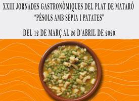 XXIII JORNADAS GASTRONOMICAS DEL PLATO DE MATARÓ